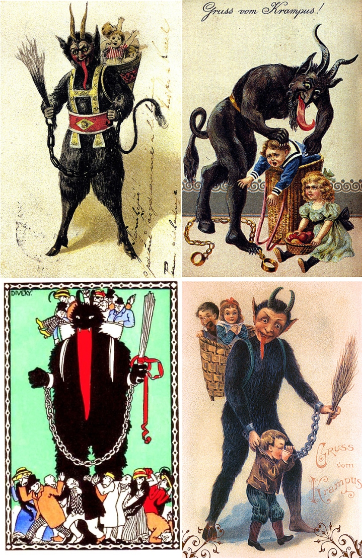 Krampus_Cards